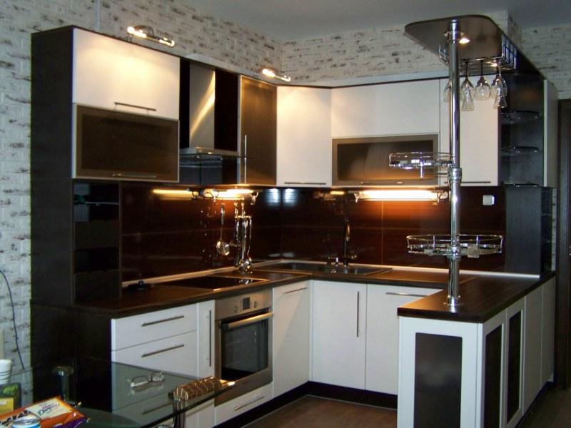 Фото кухонь цвета